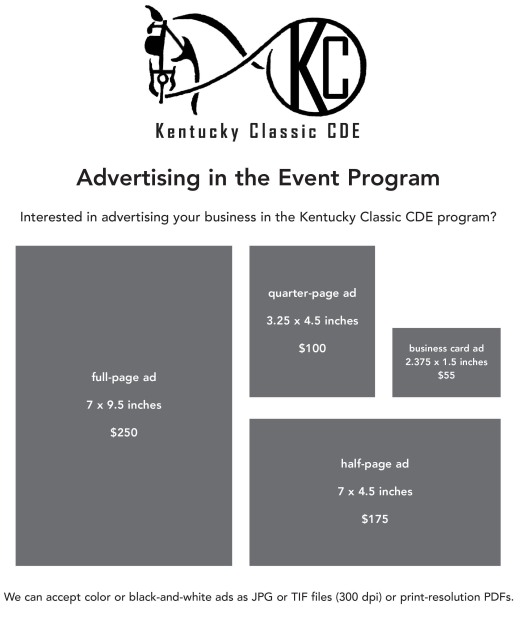 KY Classic - ad info for program 2017